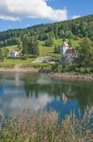 River Elbe Reservoir,Spindleruv Mlyn,Czech Republic Royalty Free Stock Photos