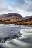 River Etive Flow Royalty Free Stock Image