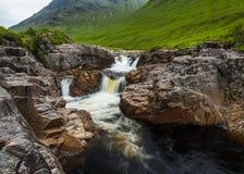 River Etive, Glen Etive, Scotland. Stock Photos