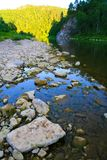 River in the evening Royalty Free Stock Image