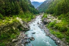 River from everest trek Royalty Free Stock Photo