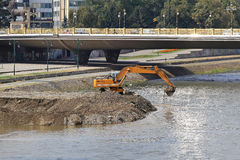 River excavator Stock Photos