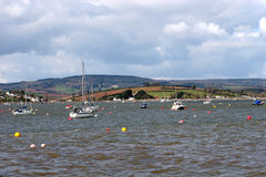 River Exe estuary Royalty Free Stock Images