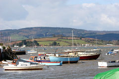 River Exe estuary Stock Images