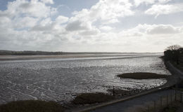 The River Exe estuary in South Devon England UK Royalty Free Stock Photo