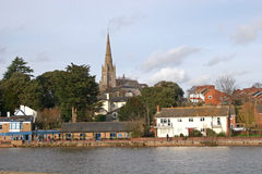 River Exe, Exeter Royalty Free Stock Images