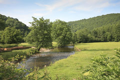 River Exe near Dulverton, Exmoor Stock Photo