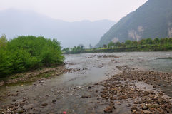 The River of Fanjing Mountain Stock Photography