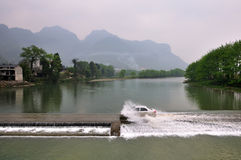 The River of Fanjing Mountain Stock Images