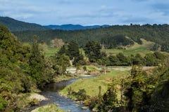 River Farm Native Land Stock Image