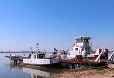 River ferry boat Stock Photo