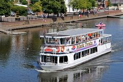 River ferry, Chester. Royalty Free Stock Photo