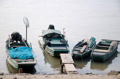 River fishing boat Stock Photography