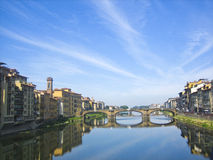 River in Florence Royalty Free Stock Photos