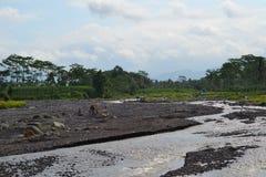 River flow brings blessings royalty free stock image