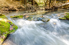River flow over rock Stock Photography