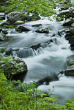 River flow in TN, Smoky Mountains Stock Photo