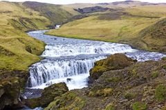 Scenic countryside landscape in Iceland. Stock Images