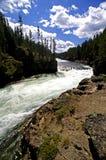 River flowing through a canyon Stock Photo
