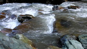 River flowing stock video footage