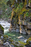 River flowing through Coquihalla Canyon Royalty Free Stock Photos