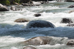 River Flowing Downstream Stock Photography