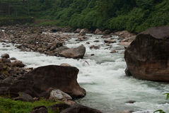 River flowing Stock Image