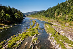 River flowing in Oregon, USA royalty free stock photography