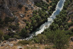 River flowing to aegean sea2 Stock Photography