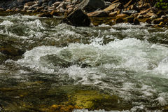 River Flowing Turbulent Water Stock Images