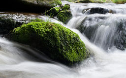 River. Flowing water in the river Stock Photo