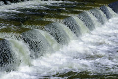 The river flows Royalty Free Stock Photos