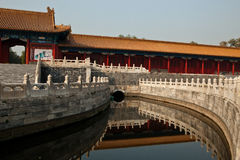 River in the Forbidden City Stock Photos