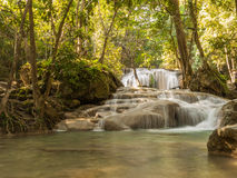 River in a forest, Thailand Royalty Free Stock Photos
