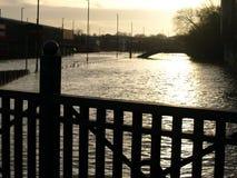 River Foss flood Royalty Free Stock Photo