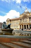River fountain and Council House, Birmingham. Stock Photo