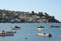 River at Fowey, Cornwall, England Stock Photography