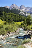 River in the French Pyrenees Stock Photography