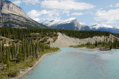 Free River From Snow Mountains Stock Photography - 5537982