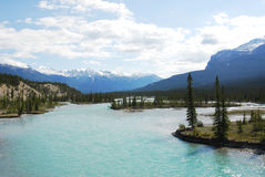 Free River From Snow Mountains Royalty Free Stock Photography - 5540147