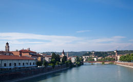 River front in Verona Royalty Free Stock Photo