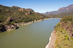 River Fuerte in the Sierra Madre Stock Photography
