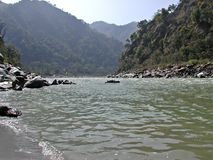 River Ganges in India Royalty Free Stock Image