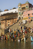 River Ganges in Varanasi - India Royalty Free Stock Images