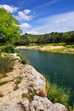 River Gard in southern France Stock Photo