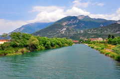 River of Garda Royalty Free Stock Photography