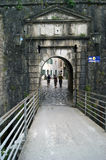 River Gate in Kotor. Entrance to the historic quarter of Kotor (Montenegro Stock Photography