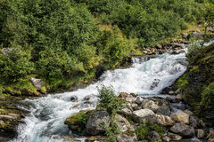 River in Geiranger Stock Image