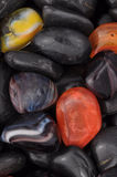 River gemstones A. Close view of river gemstones Stock Photography