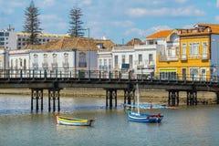 River Gilao in Tavira. Algarve, Portugal Stock Images